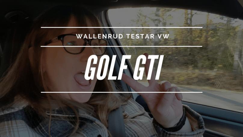Wallenrud testar VW Golf GTI, till Köpenhamn!