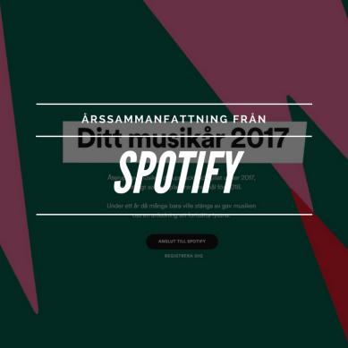 Hur har ditt Spotify-år sett ut?