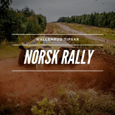 Tipsar om norska rallyparet!