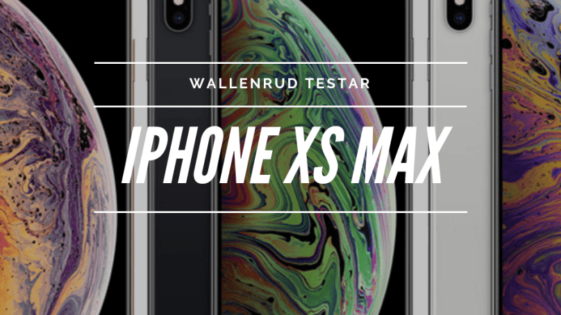 iPhone XS Max och Apple Watch Series 4