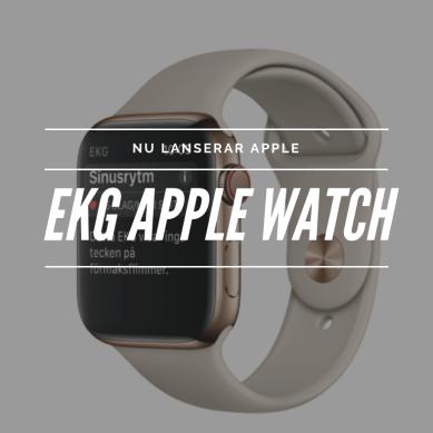 Apples EKG funktion nu tillgänglig i Sverige