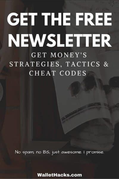 Sign up for the Wallet Hacks Newsletter!