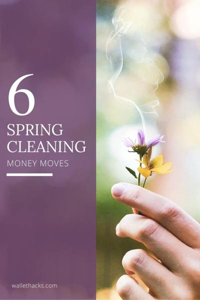 Spring cleaning time! Here are six simple money moves you can make right now to simplify your life, give you a leg up on the year, and set you up for financial success. The first one takes just minutes and could save you thousands!