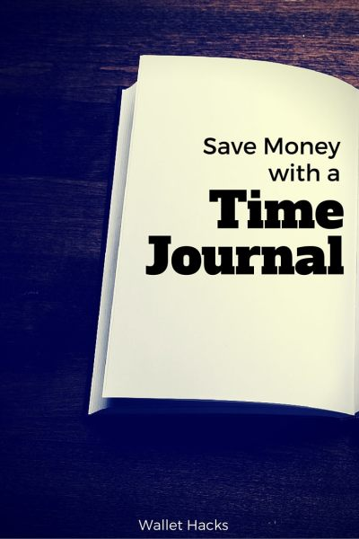 Learn how keeping a simple time journal can help you save hundreds of dollars each year. You are probably paying for services you don't use as much as you think you do, a journal can identify those services you can downgrade or cut to save big bucks!