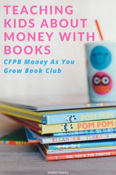 You learn many of your money habits when you're young - from watching your parents, family, friends, and people around you. I discovered the CFPB's Money As You Grow Book Club and go through the books with my 5yo son.