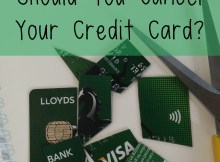 Should you Cancel your Credit Card?