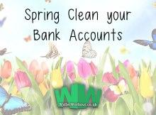 Financial Spring Clean