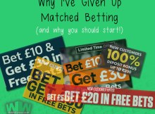 Giving Up Matched Betting