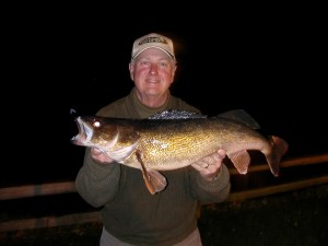 Gary with a nice Lake Erie walleye.