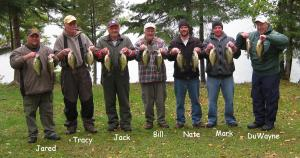 Nestor Falls crappie and walleye