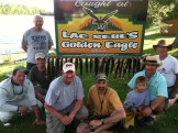 Lac Seul 2012 group photo at Golden Eagle Resort
