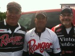 Pros Victor Wood, Mike Cira, and Glenn Vinton at NWT Championship!