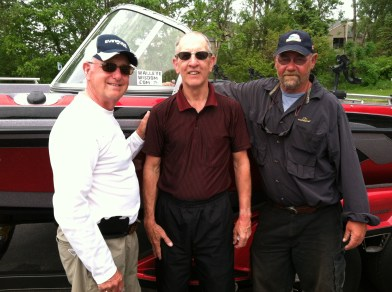 Spike and Canadians Doug Godfrey and Derek Robinson share a couple stories after Day 3 Lake Erie fishing!