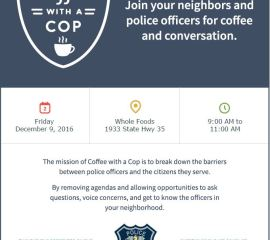 "Community Event: ""Coffee with a Cop"""