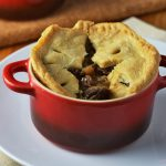 Mushroom, Chestnut & Ale Pie {Vegan}