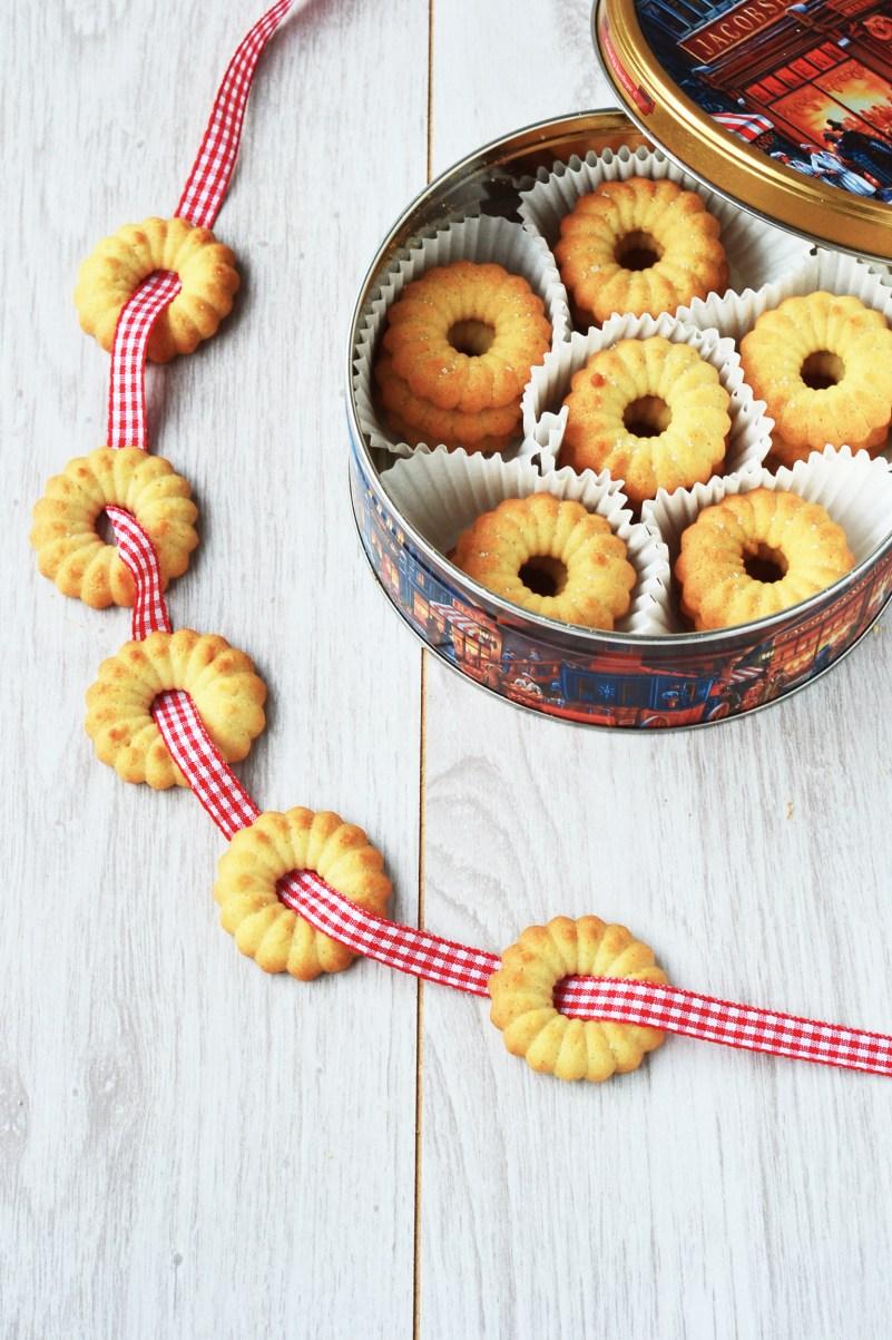 Vaniljekranse ✮ Danish Butter Cookies