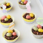 Chocolate Easter Egg Nests {Raw}