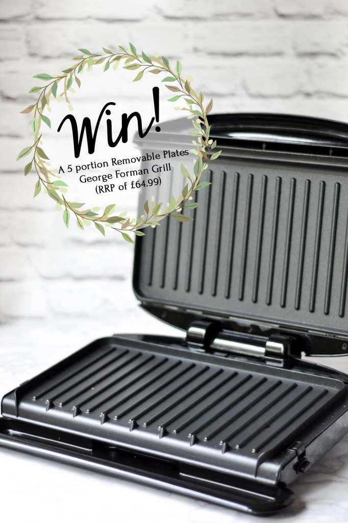 Win a George Forman grill! (UK only)