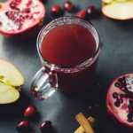 Mulled Cranberry, Apple & Pomegranate Juice