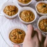 Healthy Breakfast Carrot Cake Muffins