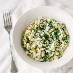 Vegan Rocket & Pea Risotto