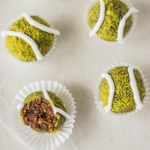 Nakd Pistachio Tennis Ball Truffles #vegan #glutenfree #raw