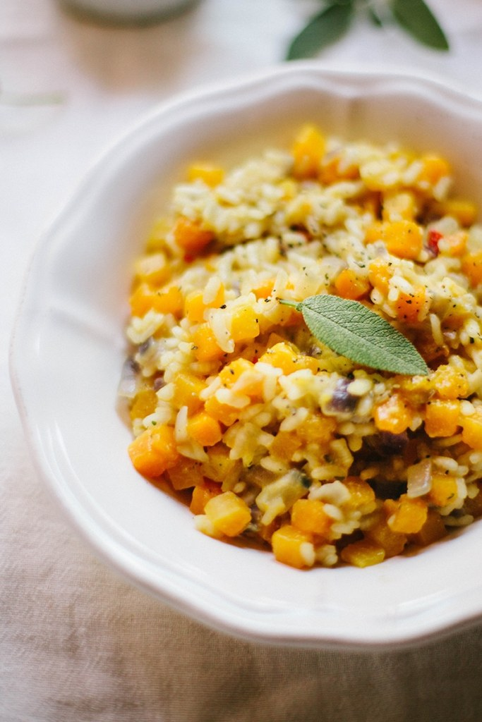 Vegan Butternut Squash & Chili Risotto