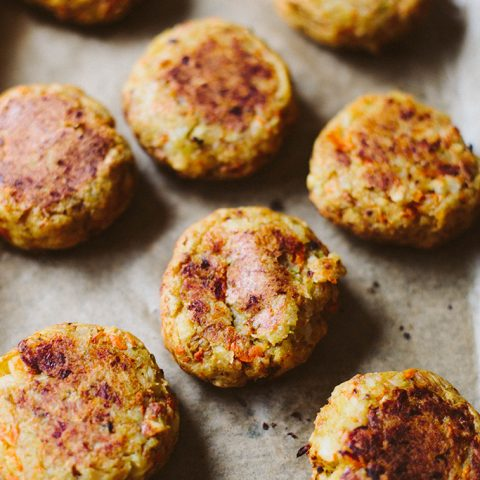 baked bubble squeak cakes