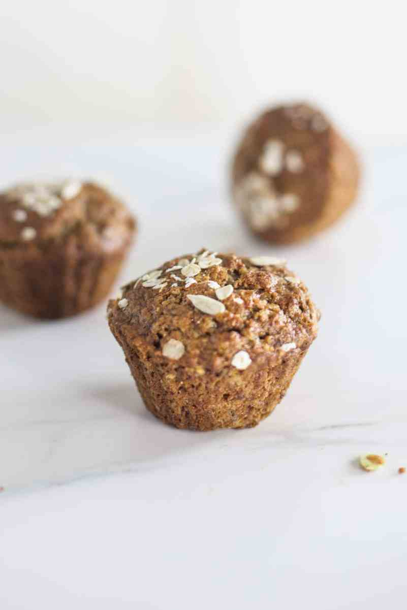 Breakfast Porridge Muffins (vegan)