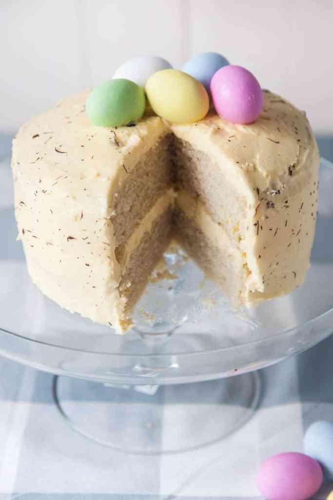Easter Lemon Sponge Cake
