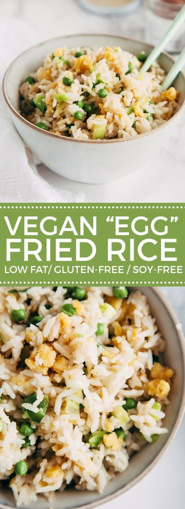 "#Vegan ""Egg""-Fried Rice! #GlutenFree"