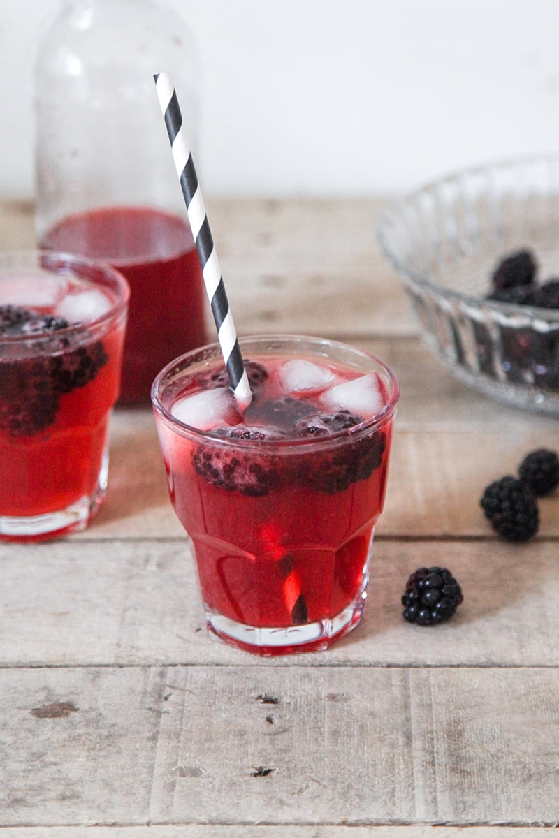 Blackberry & Ginger Kombucha