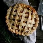 Salted Caramel Apple Pie (Vegan)