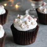 Hot Chocolate Cupcakes (Vegan)
