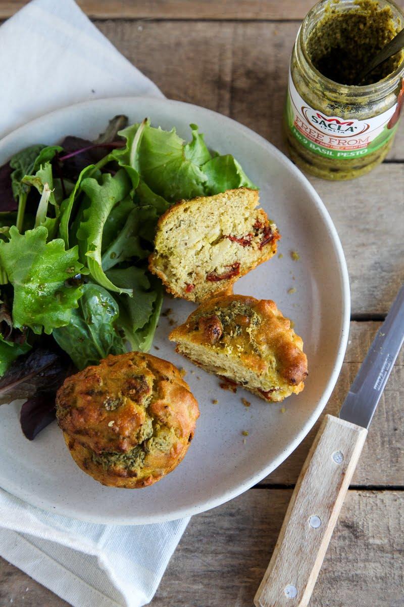Vegan muffin recipe savoury