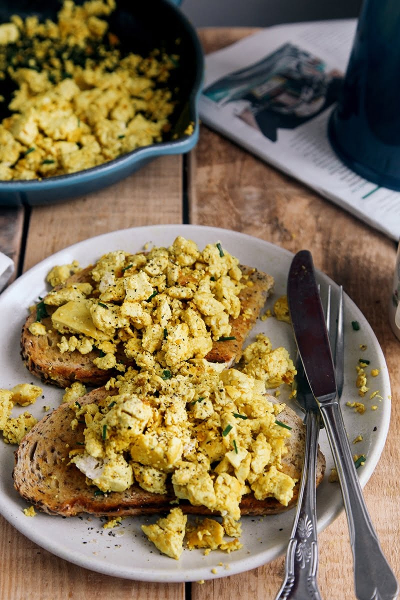 Tofu Breakfast Scramble #vegan #vegetarian #breakfast #glutenfree #grainfree