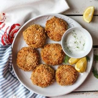 "Mock ""Crab"" Cakes #vegan #vegetarian #glutenfree"