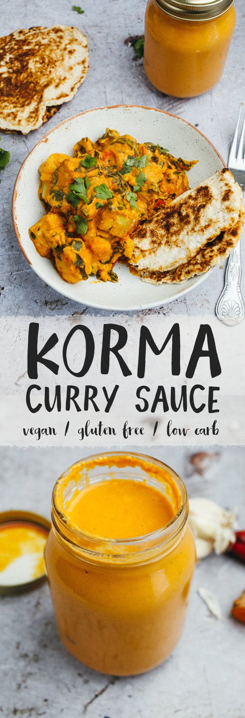 Korma Curry Sauce #Vegan #Keto