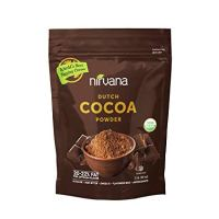 NIRVANA Best Tasting Organic Dutch Cocoa Powder 20/22% fat, alkaline(non-bitter)