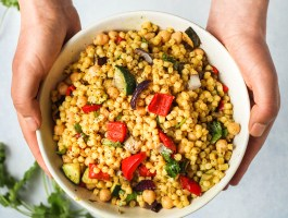 Giant Golden Couscous with Vegetables