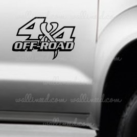 4x4 off road sticker