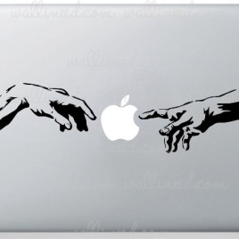 Michelangelo Hands decal
