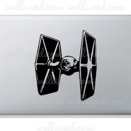 star wars tie fighter laptop sticker