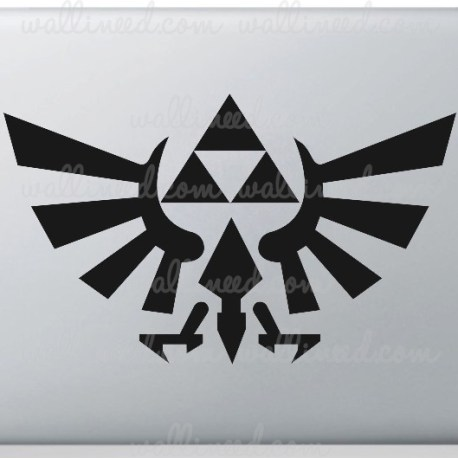 legend of zelda logo laptop sticker