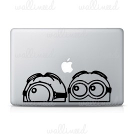minions laptop stickers