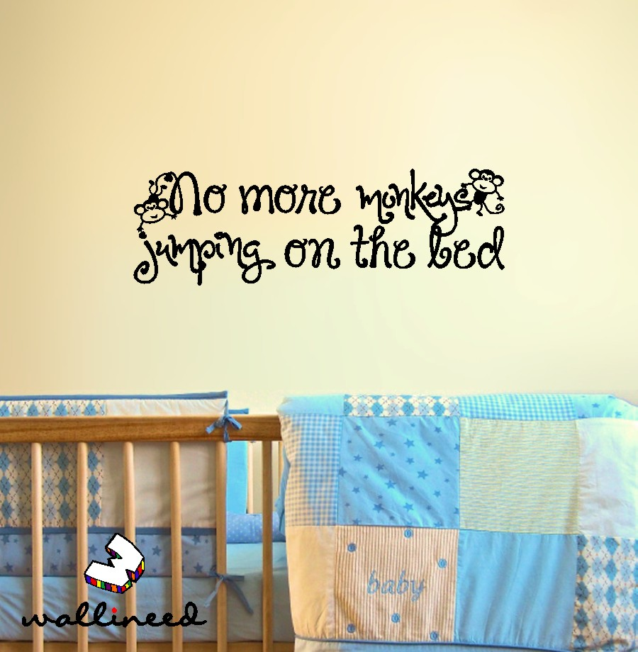 No more monkeys jumping on the bed wall decal image collections no more monkeys jumping on the bed wall decal no more monkeys jumping on the bed amipublicfo Image collections