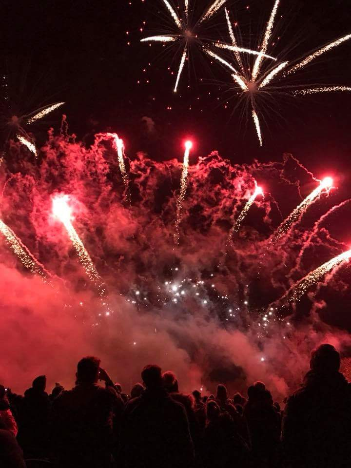 Wallingford Fireworks 2017