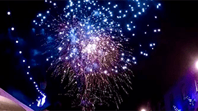 Wallingford Christmas Festival Fireworks