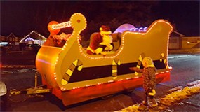 Wallingford Santa's Sleigh