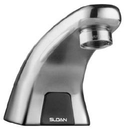 sloan 3315114bt ebf615 4 bat cp 0 5 mlm fct battery powered optima series faucet